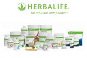 Gamme nutrition herbalife