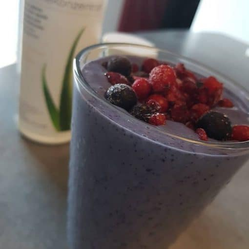 Shake formula 1 aux fruits rouges